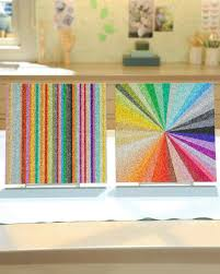glitter wall art u0026 video martha stewart