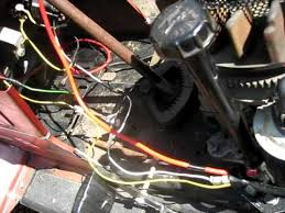 lawn mower wiring problems youtube