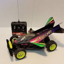 tyco rc grave digger monster truck tyco neon rocket rc car w controller ebay