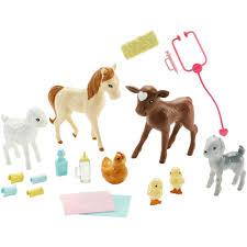 barbie farm vet doll playset walmart com