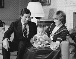 Princess Diana Prince Charles Prince Charles And Diana Princess Of Wales Hold Their Baby Son