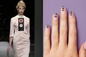 prada inspired nail art for spring shizuka new york day spa