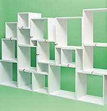Green Bookcase Assemblage Modular Bookcase In White By Seletti U2013 Burke Decor