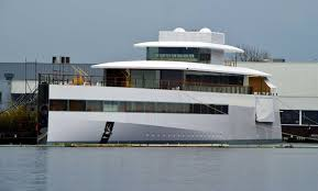 photos of late apple ceo steve jobs u0027 luxury yacht venus time