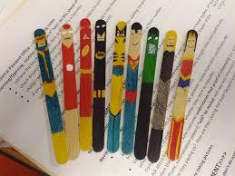 superhero craft sticks src 2015 heroes pinterest craft