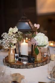 rustic wedding centerpieces plush design ideas tree trunk centerpieces fancy 30 rustic wedding