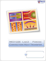 me3122 2 lab forced convection heat transfer documents