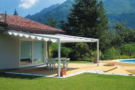 Motorized Pergola Cover by The Firenze Plus Pergola Cover Retractableawnings Com
