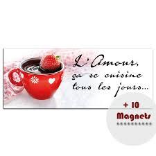 cuisine amour sticker magnétique sticker magnétique l amour ça se cuisine tous