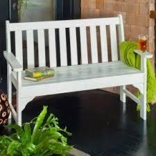 Emily Garden Bench Plastic Patio Benches Foter
