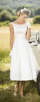 retro wedding dresses 25 best tea length wedding dresses ideas on tea