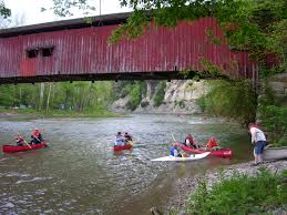 clements canoes outdoor center on the banks of sugar creek