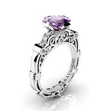 amethyst engagement rings masters caravaggio 950 platinum 1 25 ct princess amethyst