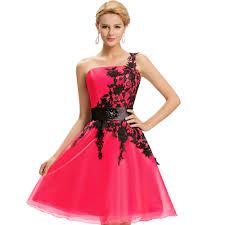 2017 new arrival one shoulder elegant prom dresses white blue red
