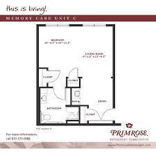 apartment sizes and floor plans for newburgh in primrose