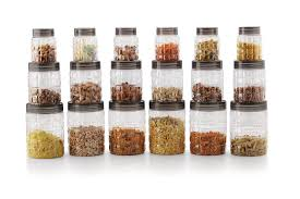 100 kitchen canisters online ceramic storage jars with kitchen canisters online buy cello checkers plastic pet canister set 18 pieces clear