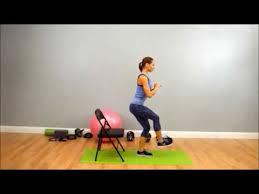 Chair Squat Single Leg Chair Squat Youtube
