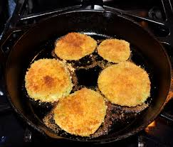 Toasting Bread Without A Toaster Cancer Fighting Vegan Fried Green Tomatoes U2013 The Savvy Sister