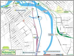 Richmond Virginia Map by Railfan Guide To Richmond Va South