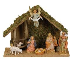 around the world nativity set decore