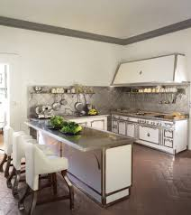 glamorous metal backsplash trend st louis traditional kitchen