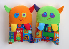 stuffed monster toy pattern pdf sewing pattern for plush monster