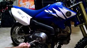 how to adjust clutch on yamaha ttr 50 youtube