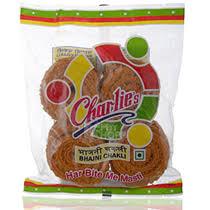 bhajni chakli mini bhakarwadi namkeen salty snacks butter chakli 100 gm at rs 40 00 from mini