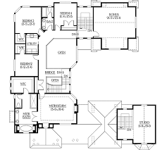 Home Plans With Courtyards Plan 23195jd U Shaped Home Plan With Video Tour Craftsman