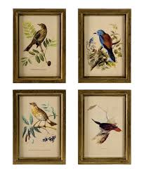 wooden bird wall set of four our house remodel keeping