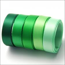 green satin ribbon the hobby house satin ribbon 10m green to go set the