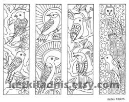 coloring pages bookmarks steampunk printable coloring pages bookmarks adult
