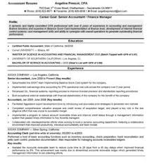 Senior Accountant Sample Resume by Accounting Manager Resume Accounting Manager Federal Resume