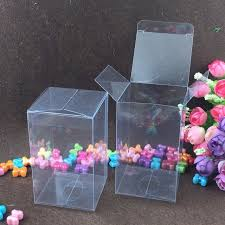 where to buy boxes for presents aliexpress buy 30pcs 10 10 5cm clear plastic pvc box packing