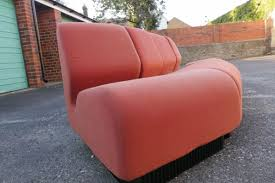 Vintage Curved Sofa by Secondhand Vintage And Reclaimed Office Furniture Timeless 5