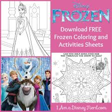 frozen sheets free disney frozen coloring sheets and activities i am a