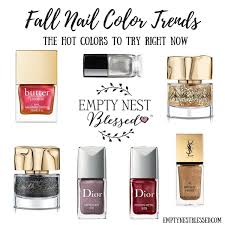 nailed it five fall nail color trends to try right now