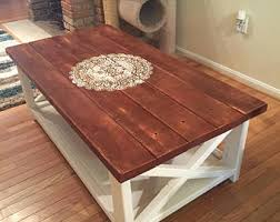 livingroom table ls rustic coffee table etsy