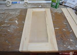 diy simple kitchen cabinet doors easy shaker cabinet doors