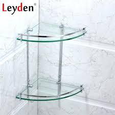 Bathroom Glass Shelves With Rail Bath Glass Shelves Stainless Steel Bathroom Glass Shelf Rack Bath