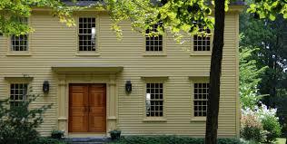Colonial Exterior Doors Windows Doors Colonial Exterior Trim And Siding Windows