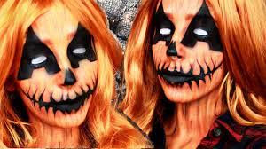 pumpkin queen halloween makeup tutorial youtube
