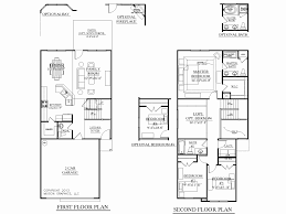 two floor house plans 2 house plans with 3 bedrooms upstairs lovely two