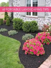 Simple Garden Landscaping Ideas 13 Tips For Landscaping On A Budget Landscaping Yards And Budgeting