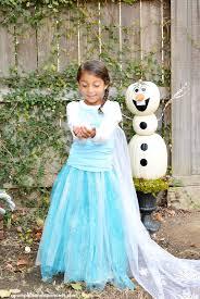 Halloween Costume Elsa Frozen Diy Elsa Costume Easy Minute Idea