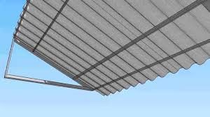 Awning Roofing Corrugated Metal Awning Youtube