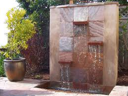 stylish small wall fountains outdoor fountains copper outdoor wall