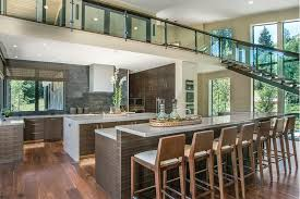 kitchens with two islands 25 contemporary two island kitchen designs every cook wants to own