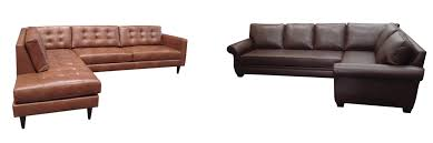 Beige Leather Sofas by Leather Sofas And Sectional Buildasofa