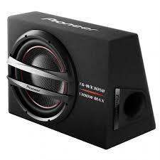 pioneer photo box pioneer ts wx305b bass reflex sub 1300w 12 woofer in a box